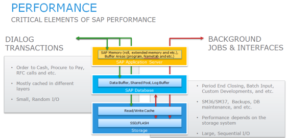 performance elements of SAP
