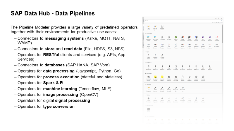 SAP Data Hub 2 3 – expanded opportunity for SAP's Partner Eco System